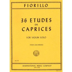 Fiorillo, Federigo - 36 Etudes or Caprices - Violin - by Ivan Galamian - International